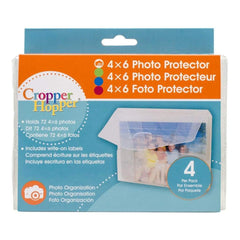 Cropper Hopper Photo/Negative Protector 4 pack 4 inch X6 inch