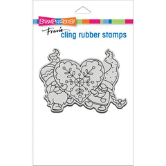 "Stampendous - Cling Stamp - Gnome Love 3"" x 4.5"""