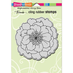 Stampendous Cling Stamp - Hellebore