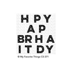 My Favorite Things Stamps - Happy Birthday Blend