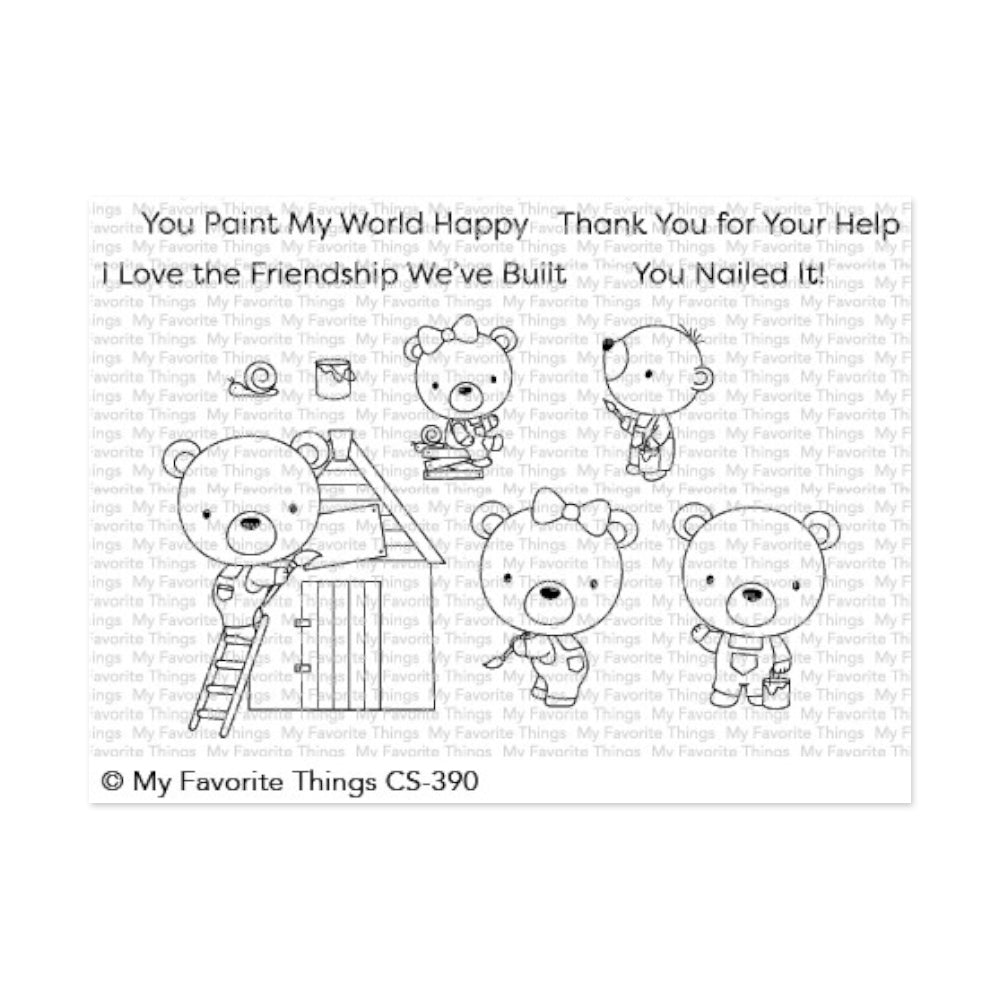 My Favorite Things - Clear Stamps - Builder Bears