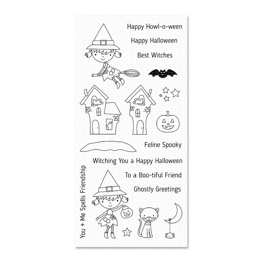 My Favorite Things - Stamp Set - Best Witches