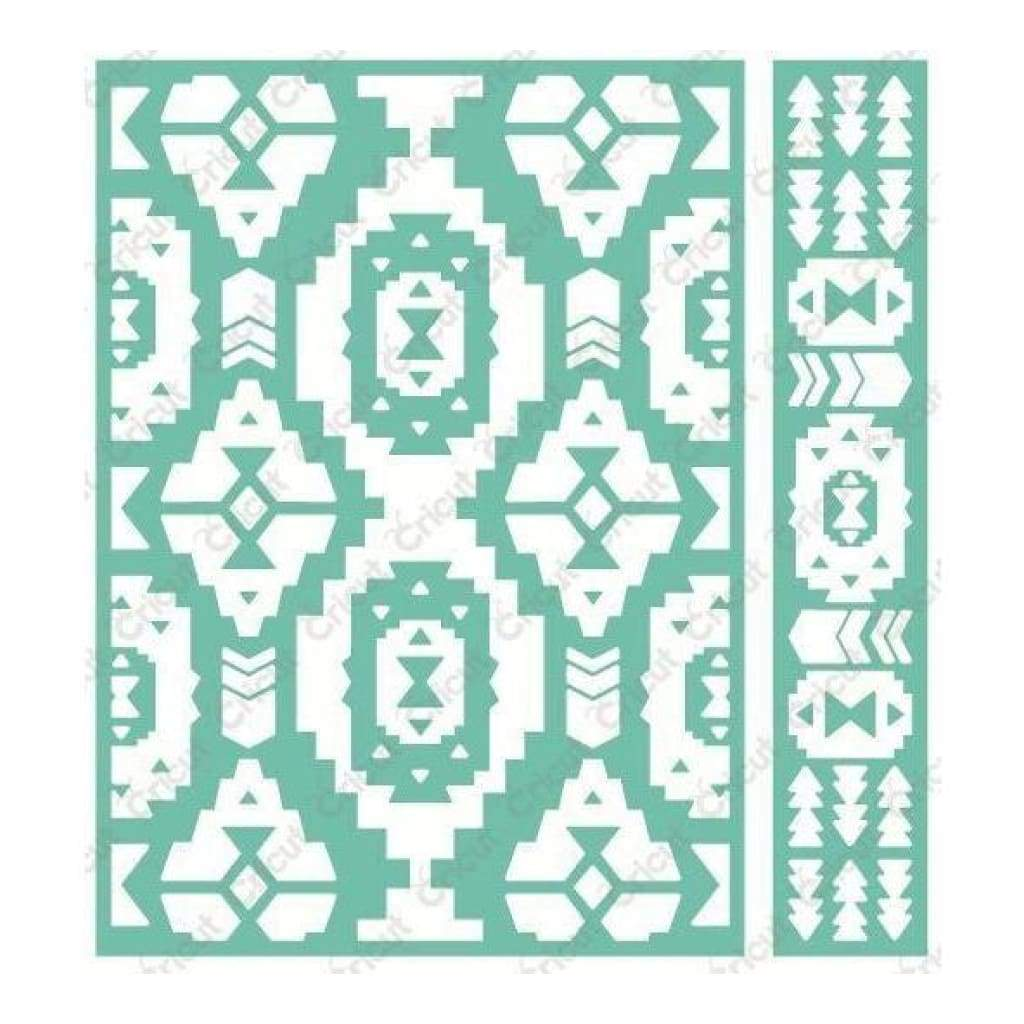 Cuttlebug 5x7 inch Embossing Folder & Border - Pueblo