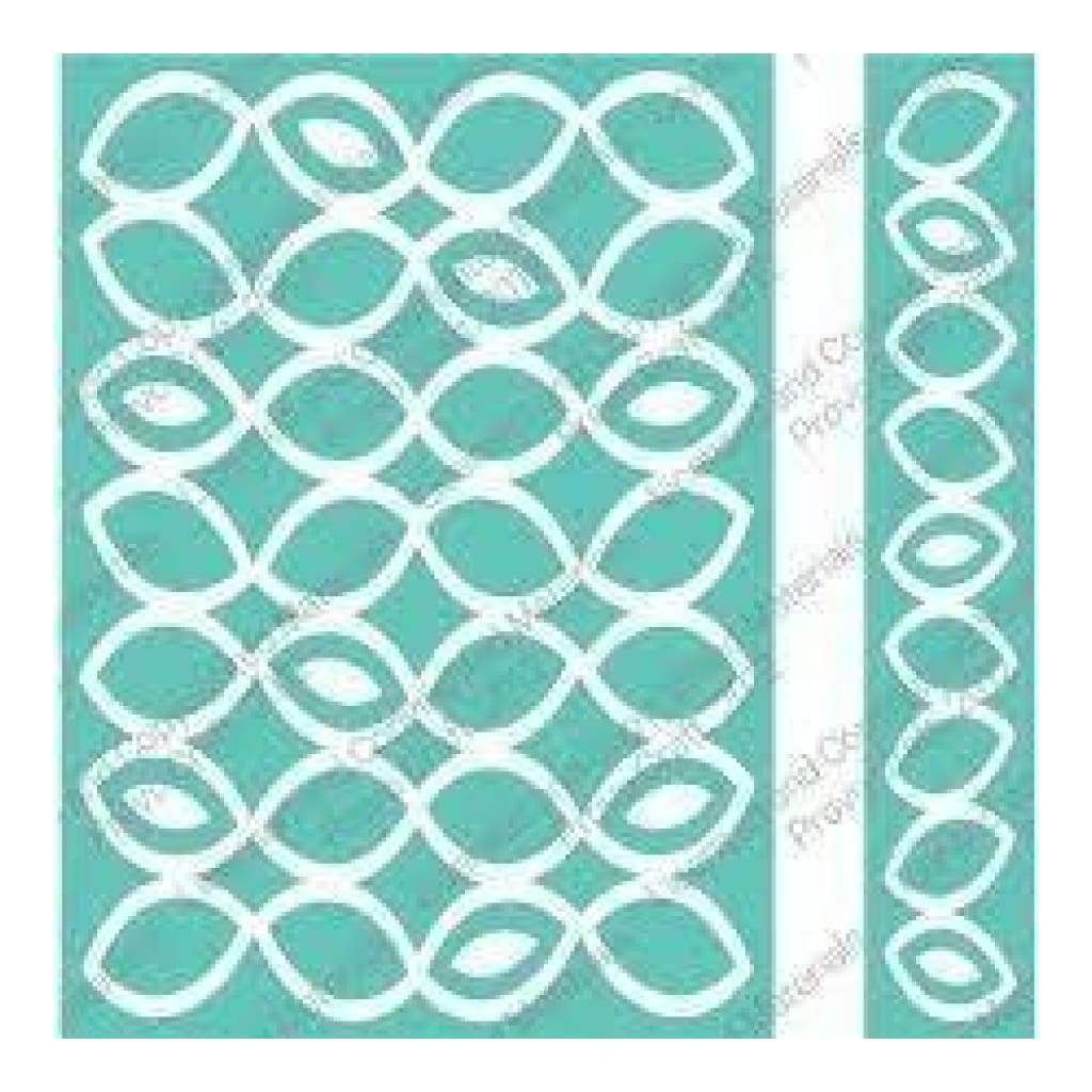 Cuttlebug 5X7 inch Embossing Folder/Border Set - Papaya Halves