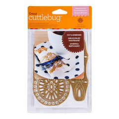 Cuttlebug A2 Cut & Emboss Die By Anna Griffin Eleanor Laces
