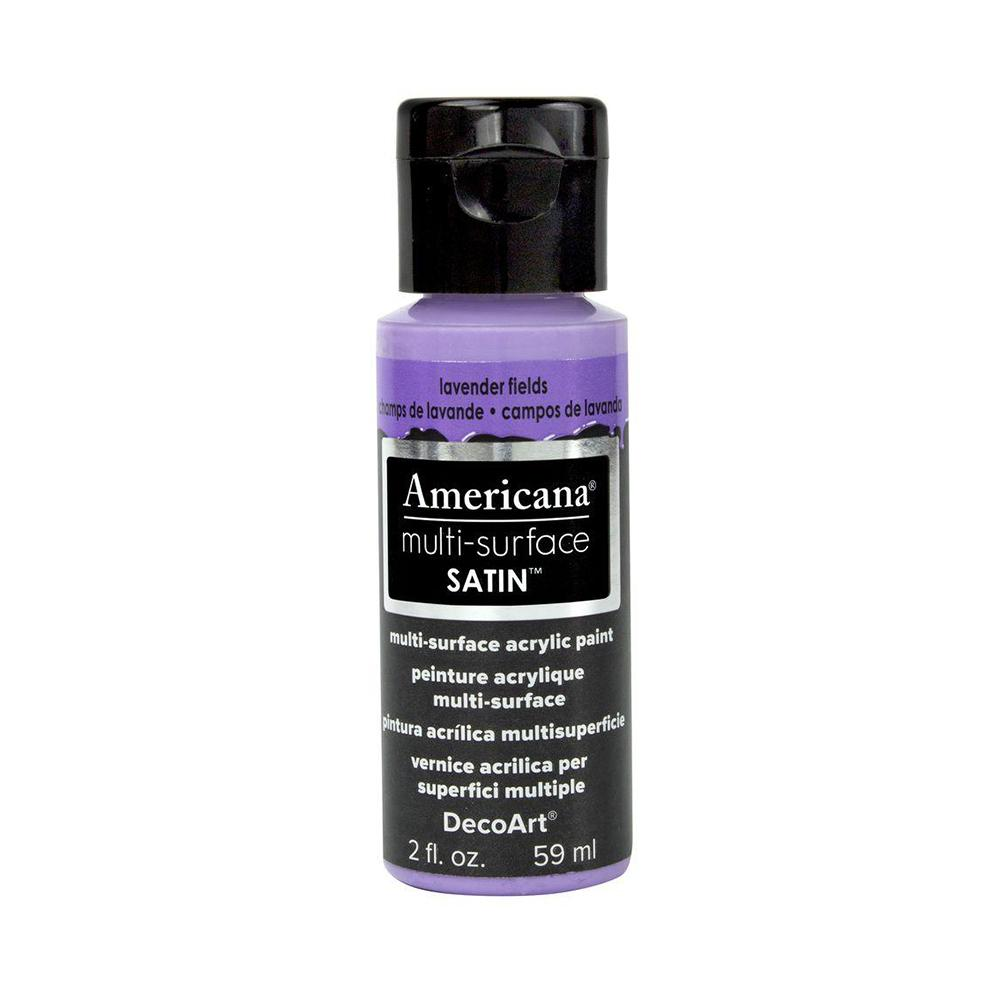 Americana Multi-Surface Satin Acrylic Paint 2oz - Lavender Fields