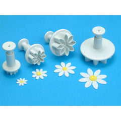 Knightsbridge Global - Plunger Cutters 4 pack - Daisy