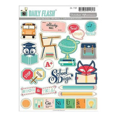 Daily Flash - Milk Money - Shape/Label Stickers