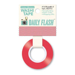 Daily Flash - Washi Tape - Red Mesh