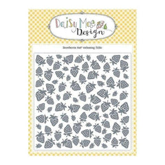 Daisy Mae Design 6 x 6 inch Embossing Folder - Strawberry