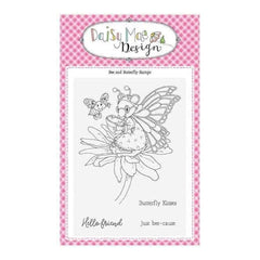 Daisy Mae Design A6 Stamp Set - Bee and Butterfly - Set of 5 Stamps