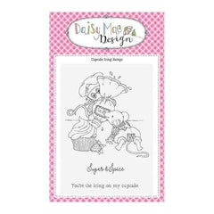Daisy Mae Design A6 Stamp Set - Cupcake Icing - Set of 3 Stamps
