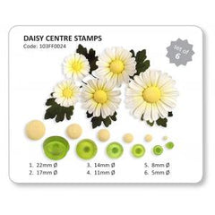 Knightsbridge Global - Plastic Cutters 6 pack - Daisy Centres