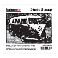 Darkroom Door Cling Stamp 4.5In.X3in. Kombi