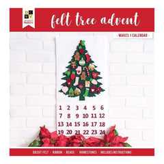 DCWV Paper Projects Tree Advent Calendar - Makes 24 Days