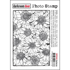 Darkroom Door - Photo Cling Stamp 4.6 inch X3.2 inch - Gerberas