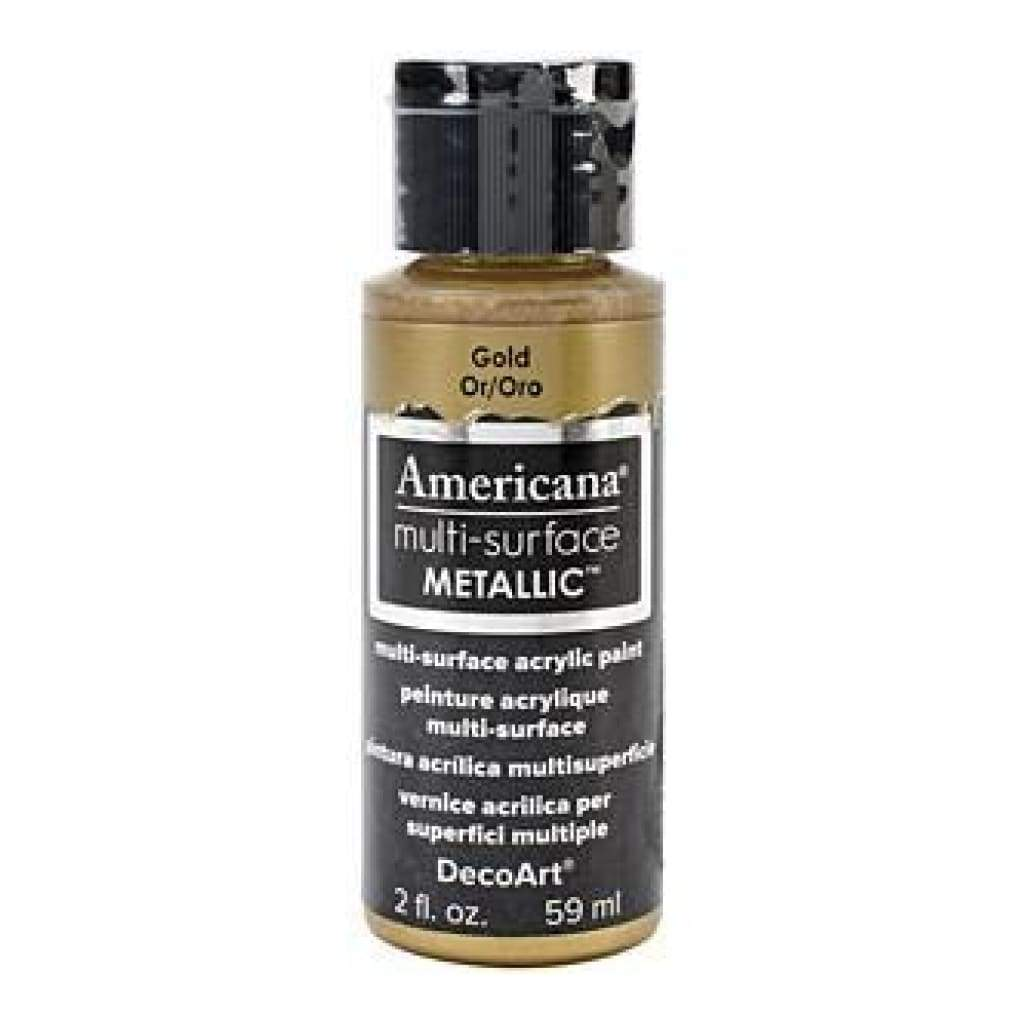 Deco Art - Americana Multi-Surface Metallic 2Oz Gold