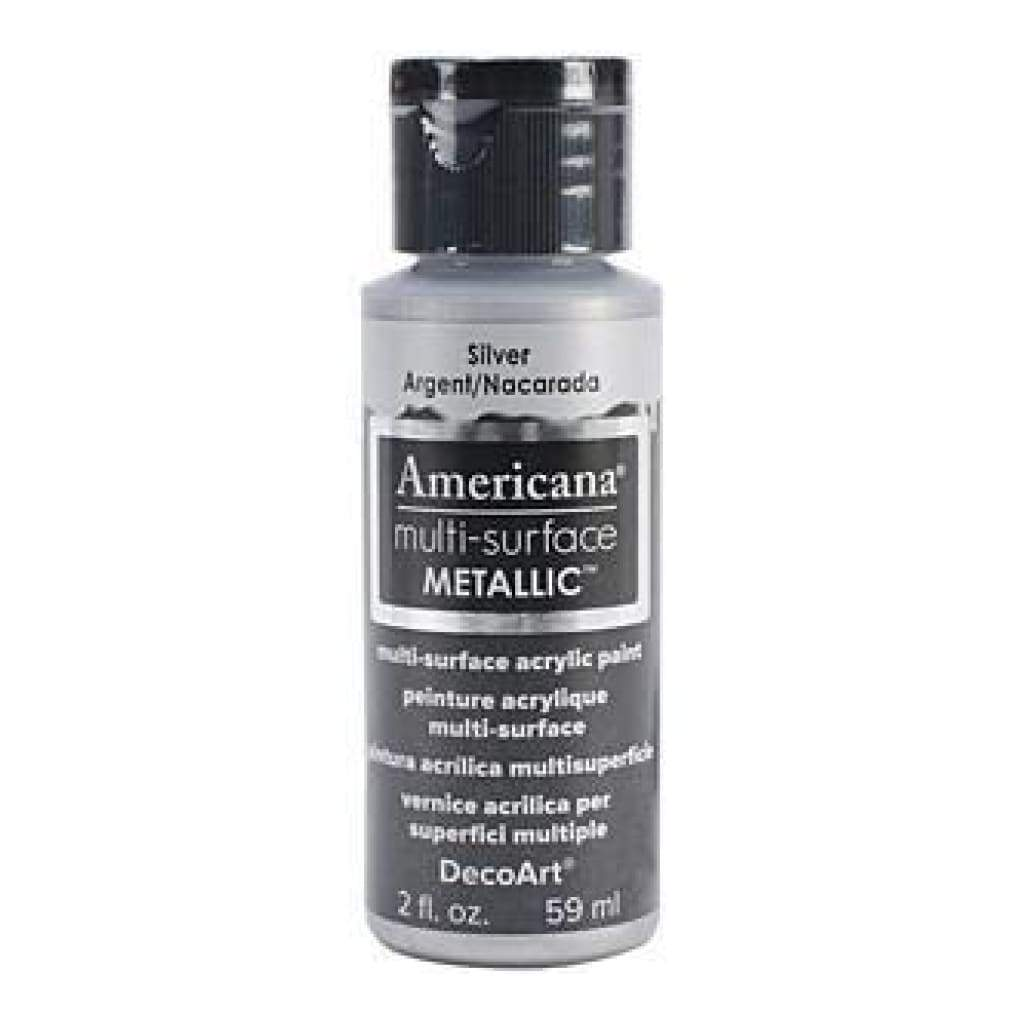 Deco Art - Americana Multi-Surface Metallic 2Oz Silver