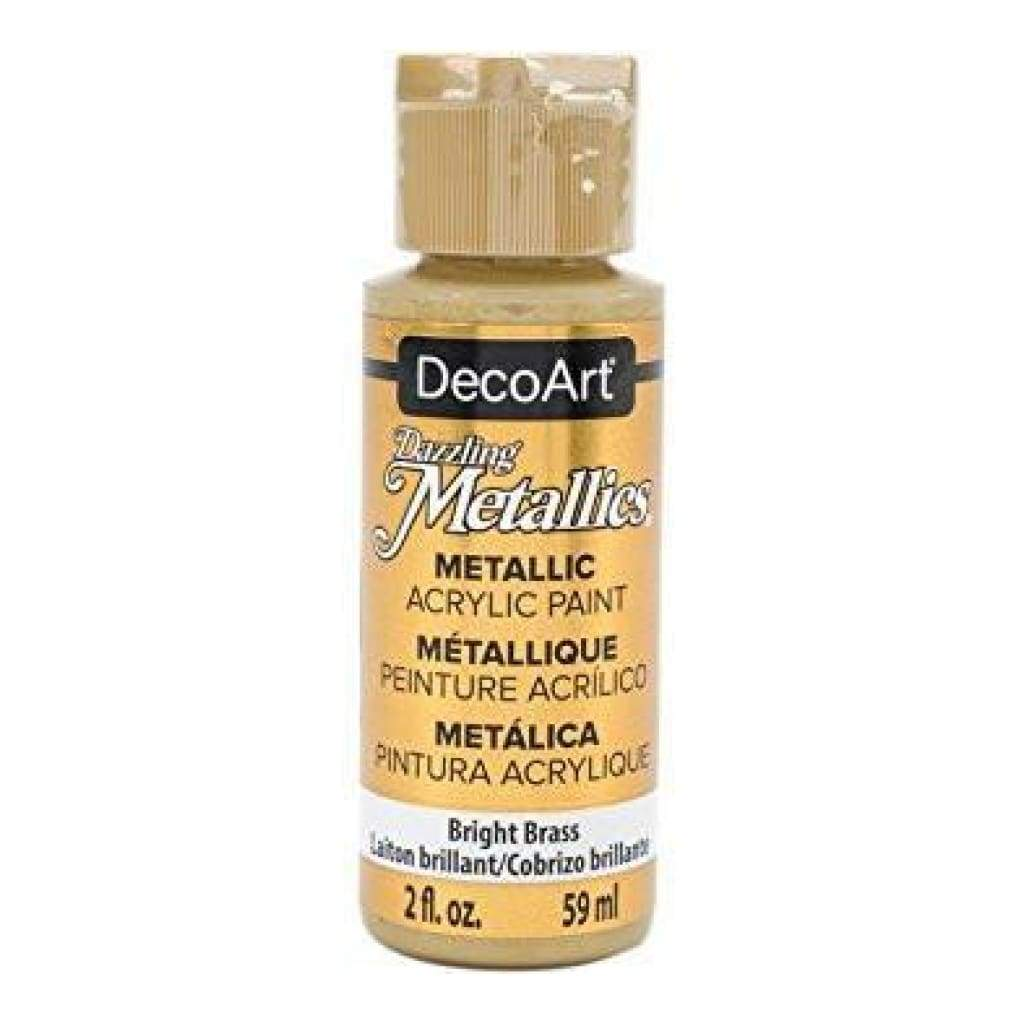 Deco Art Dazzling Metallics Acrylic Paint 2Oz Bright Bass