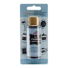 Deco Art - Gloss Enamels Glass Chalkboard Paint 2Oz