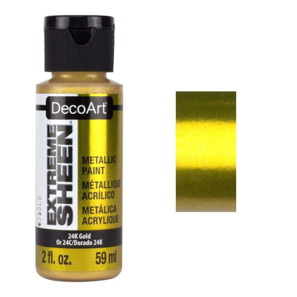 DecoArt Extreme Sheen Paint 2oz - 24k Gold