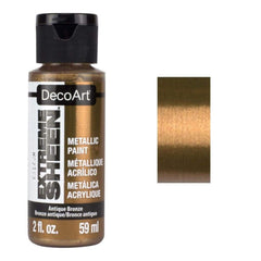 DecoArt Extreme Sheen Paint 2oz - Antique Bronze