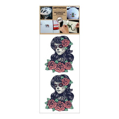 Decorprint Artystick Decorative Stickers 3.75 inch X7.75 inch Lady Death