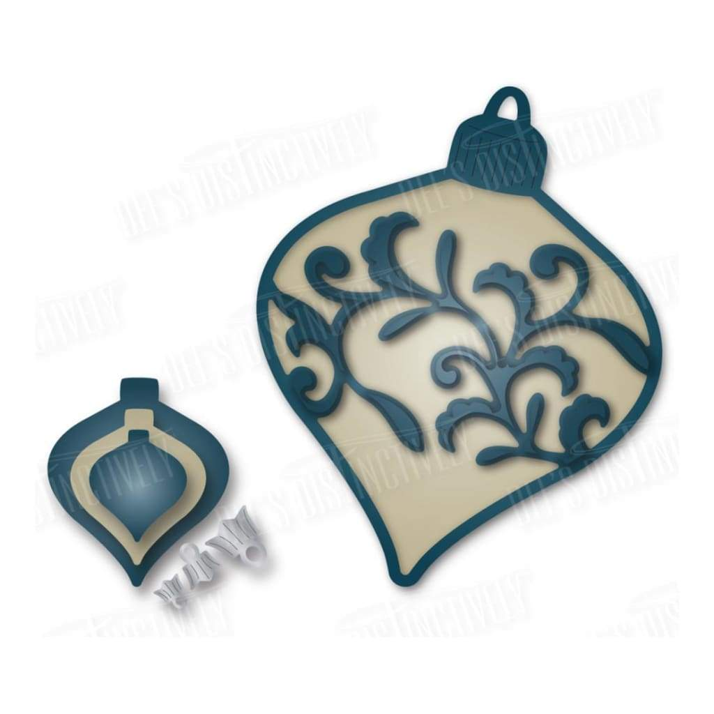 Dees Distinctively Dies Lena Ornament 1-Large 2.48 inch X3.09 inch