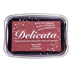 Delicata Pigment Ink Pad Rose Gold