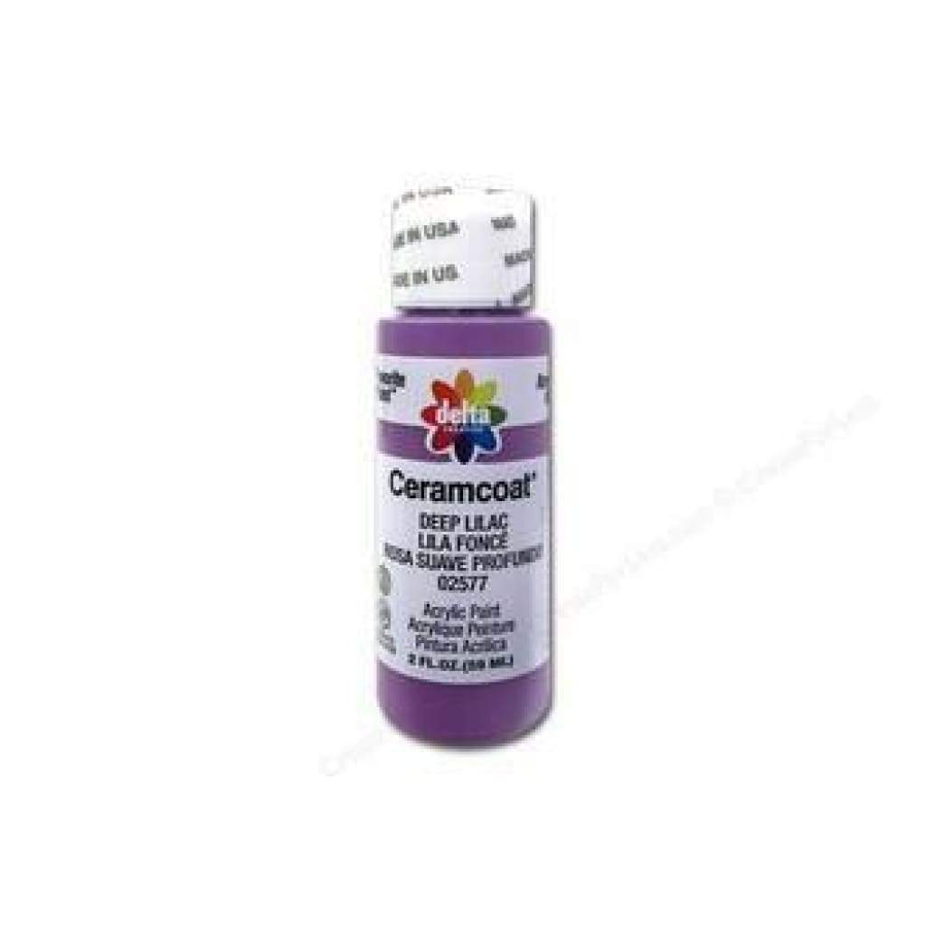 Delta - Ceramcoat Acrylic Paint 2Oz - Deep Lilac - Opaque