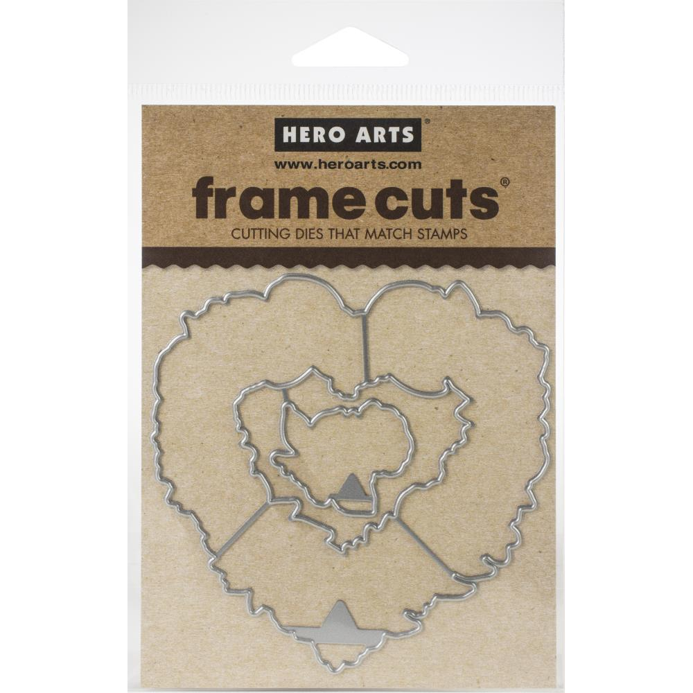 Hero Arts Frame Cut Dies - Floral Heart Wreath