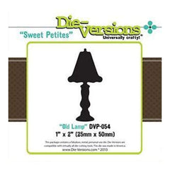 Die-Versions Sweet Petites Die Old Lamp