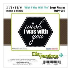Die-Versions Sweet Phrases Die Wish I Was With You 2.5In. X2.16In.