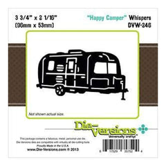 Die-Versions -Whispers - Happy Camper