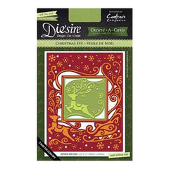 Die'sire Create-A-Card Cutting & Embossing Die - Christmas Eve