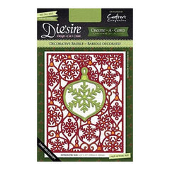 Die'sire Create-A-Card Cutting & Embossing Die - Decorative Bauble