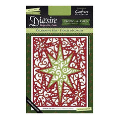 Die'sire Create-A-Card Cutting & Embossing Die - Decorative Star