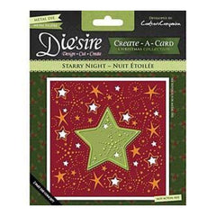 Die'sire Create-A-Card Cutting & Embossing Die Starry Night.