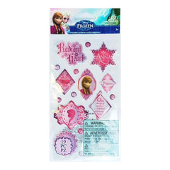 Disney Frozen Epoxy Stickers Anna Phrases