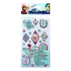 Disney Frozen Epoxy Stickers Elsa Phrase