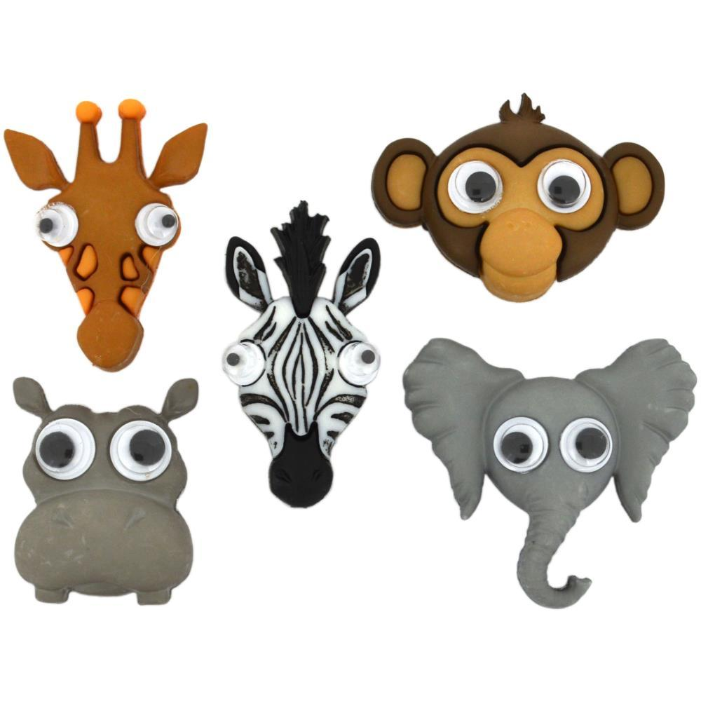 Dress It Up Embellishments - Lifes A Zoo