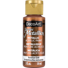 Deco Art Dazzling Metallics Acrylic Paint 2oz - Venetian Gold