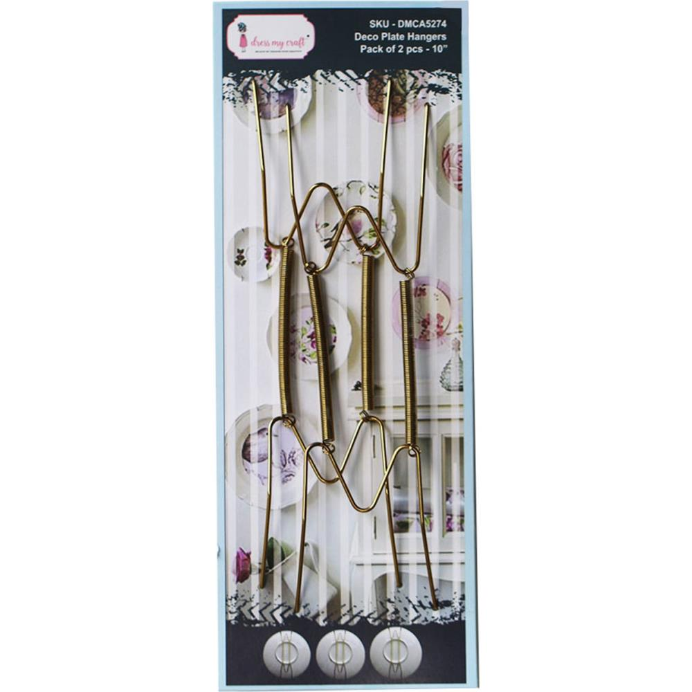 Dress My Crafts - Deco Plate Hangers 10in. 2 pack
