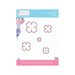 Dress My Crafts - Dies - Four Petal Flower .5 To 1.54in