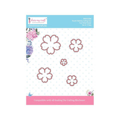 Dress My Crafts - Dies - Five Petal Flower .5 To 1.54in