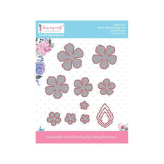Dress My Crafts - Dies - Curved Flower .63 To 2in