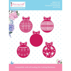 Dress My Craft Dies - Christmas - Christmas Ornaments