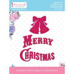 Dress My Craft Dies - Christmas - Christmas Bells