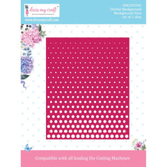 Dress My Craft Dies - Background, Dotted