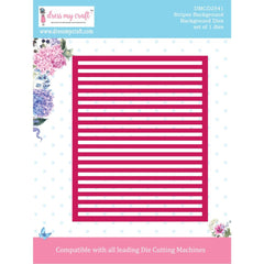 Dress My Craft Dies - Background- Stripes
